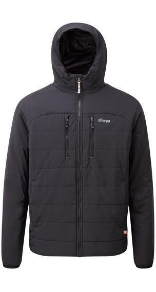 Sherpa Kailash Hooded Jacket Men Black/Monsoon Grey
